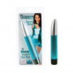 Shimmers Waterproof Massager - Teal 6.5in