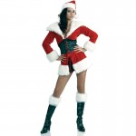 Short N' Sweet Santa Costume-M/L