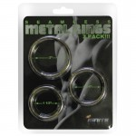 SI 3 Pack Seamless Metal Rings 2, 1.75, And 1.5 Inch