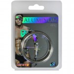 SI Anodized Aluminum Ring Platinum 2in
