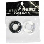 SI Power Stretch Donuts 2pk Black/Clear