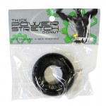 SI Thick Power Stretch Donut Black