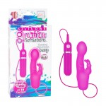 Silicone Gyration Sensations Gyrating 10-Function Bunny - Pink