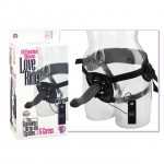 Silicone Love Rider G-Caress - Black 10-Function