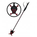 Skull Leather Riding Crop (Leather)