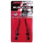 Spartacus Blackline Nipple Clamps