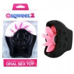 Sqweel II Oral Sex Simulator-Black