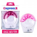 Sqweel II Oral Sex Simulator-White
