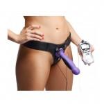Strap U Fuse Strap On Electro Stim Harness Dildo