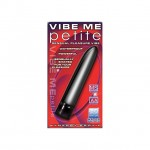 Synergy Vibe Me Petite Pastel Black Waterproof Multi Speed Mini Vibe