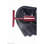 Thick heavy leather flogger, The Taiwaz Tbar flogger