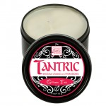 Tantric Soy Massage Candle with Pheromones Green Tea 4oz