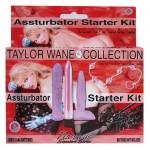 Taylor Wane's Assturbator Starter Kit (Lavender)