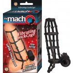 The Macho Vibrating Cockcage,Waterproof Black