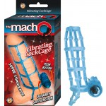 The Macho Vibrating Cockcage,Waterproof Blue