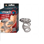 The Macho Vibrating Cocksling, Waterproof Clear