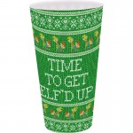 Time To Get Elf'd Up Christmas Plastic Cup