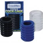 TitanMen - Cock Cage Black