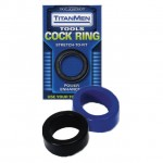 TitanMen - Cock Ring Blue