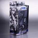 Tom of Finland 2in Metal Cock Ring with Anal Ball