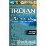 Trojan Bare Skin Lubricated Condoms (10)