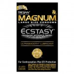 Trojan Ecstasy Magnum Condoms with UltraSmooth Lubricant