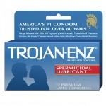 Trojan-Enz with Spermicidal Lubricant