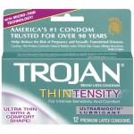 Trojan Thintensity Latex Condoms with UltraSmooth Lubricant