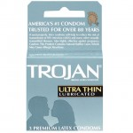 Trojan Ultra-Thin Lubricated Condoms