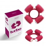 VeDO Turbo Vibrating Ring Ballsy Burgundy