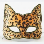 Venetian Half Mask-Cat