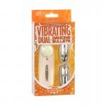 Vibrating Dual Bullets (Silver)