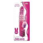 Wet Dreams Love Bunny Magenta