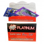 Wet Safe Sex Kit with Platinum Silicone Lubricant