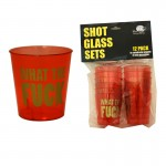 What The Fuck Shot Glass Set (12Pk)