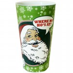 Wheres My Hos At Christmas Plastic Cup