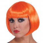 Wig Neon Bob Orange