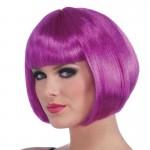Wig Neon Bob Purple