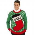Xmas Sweater Naughty L/XL