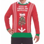 Xmas Sweater Under the Mistletoe L/XL