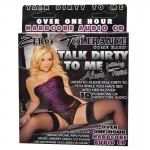 Zero Tolerance Talk Dirty To Me Audio CD Alexis Texas