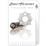 ZT Pleasure Web - Single Bullet Clear Cock Ring / 1 Smoke Bullet