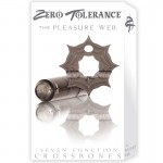 ZT Pleasure Web - Single Bullet Smoke Cock Ring / 1 Smoke Bullet